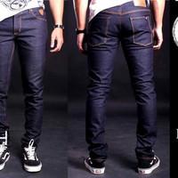 Arch Denim, Celana Jeans BLUEBLACK Dry Denim