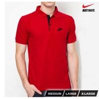 harga Polo Shirt Pria Nike Merah / Kaos Polo Kerah Wangki Shirt Tokopedia.com