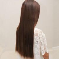 Hair Clip Lurus 1 layer rambut Halus palsu extension Hairs Sal Murah