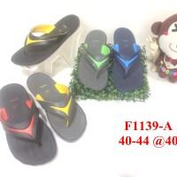 harga 1139 sandal pria luofu jepit sendal cowok karet import Tokopedia.com
