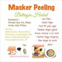 Masker Peling Batrisyia Herbal