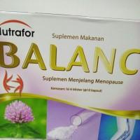 nutrafor balance ( suplemen menjelang menopause ) 60kapsul