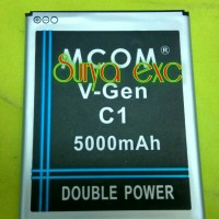 Baterai Vgen C1 Batray V-gen C1 Double Ic Protection