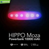harga Hippo Powerbank Moza 10000 Mah Lampu Led Strobo Polisi Tokopedia.com