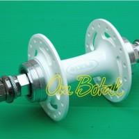 harga Hub Alloy 32h (bearing) Fixie Rear Flipflop - Taiwan - Putih. Tokopedia.com