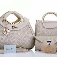Tas Batam Wanita Dior Luxury Culture Carlito 3in1 2709-2