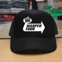 TOPI TRUCKER / JARING VANS WARPED TOUR - BANABOO SHOPPING