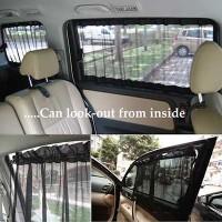 Tirai Tabir Surya Kaca Jendela Mobil Korden Gorden Sun Visor Sun Shade