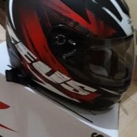 Helm Zeus 806 ii48 'Corsa' Matt Black/Red