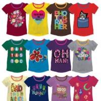 kaos anak perempuan/oshkosh/kaos anak branded/baju anak/grosir baju