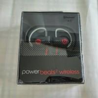 earphone headset wireless beats Powerbeats V2.0 Black / hitam