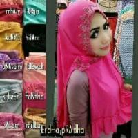 Kerudung Hijab Instan Jilbab Hijab Instan Atasan Hijab Kerudung AN
