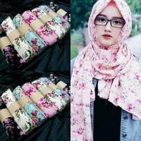 Pashmina Motif / Hijab Pasmina / Pasmina Bunga