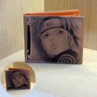 Dompet Canvas Coklat Naruto