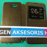Flipcover Samsung J7 Prime / ON 7 2016 Flip Leather Case / Sarung HP