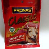 Pronas Beef Corned Kornet Classic Daging Sapi ASLI Enak, Lezat & Murah