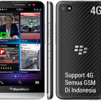 BLACKBERRY Z30 ORIGINAL 4G LTE GARANSI DISTRIBUTOR 2 THN FREE T.GLASS