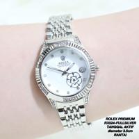 PROMO Jam Tangan Rantai Rolex Tanggal Aktif Grosri Termurah Chanel Gue