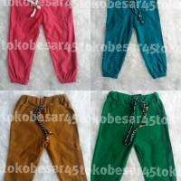 Grosir Celana Jogger Anak size L (5-6thn)- celana anak jogger termurah