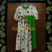 Jual Daster Klok Payung Floral Batik Murah