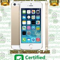 APPLE IPHONE 5S GOLD 32GB GARANSI PLATINUM