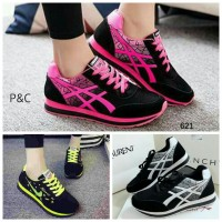 Sepatu Boot Kets Wanita 3 Warna Vivid Sport Casual Pusat Sepatu Murah