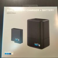 Jual Dual battery charger + baterai gopro hero 5 black Murah