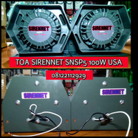 TOA/SIRENE SIRENNET SNSP5 MADE USA 100WATT WHELEN SOUND