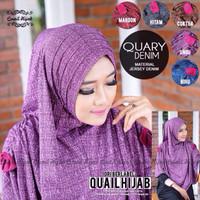 Quary Denim By Quail Hijab