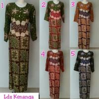 Jual Gamis rayon murah/longdress batik pekalongan/baju menyusui/daster Murah