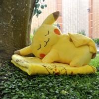 Jual Bantal Selimut (BALMUT) Sleepy Pikachu Murah
