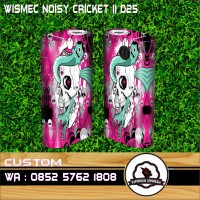 Garskin vapor wismec Noisy Cricket2 FAITH NO MORE 2