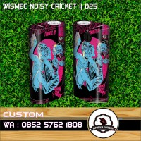 Garskin vapor wismec Noisy Cricket2 FAITH NO MORE