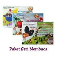 Paket Hemat ABACA Flash Card Seri Membaca 1, 2, 3 | Belajar Membaca