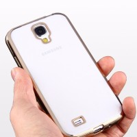 CASING HP SAMSUNG S4 SOFT CLEAR THIN CASE SHINING