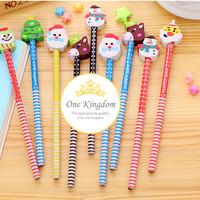 Jual Pensil santa, pensil kayu, hadiah natal, bingkisan natal, ONE KINGDOM Murah