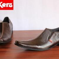 Beli Sepatu Kerja Pria Kickers Pantofel coklat Baru