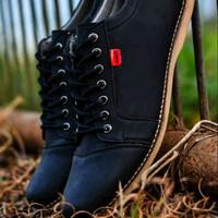 Sepatu Kickers Shaka Black / Sepatu Casual Pria / Sepatu Cowok Baru