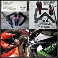 harga Frame Slidere Atau Pelindung Body Ninja Rr 250 Mono (murah) Tokopedia.com
