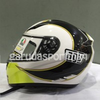 AGV K3 Rossi Gothic 46 White Edition
