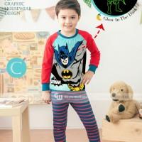 harga Piyama Anak Gw 133 C Batman Glow In The Dark / Gleoite Wardrobe Tokopedia.com