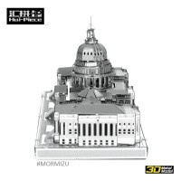 Hui-Piece 3D Metal Puzzle United States Capitol