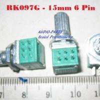 Sealed Potentiometer 100k stereo 15mm