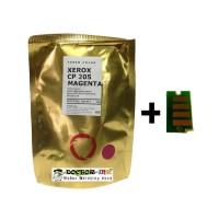 Serbuk Toner Xerox CM205b/CP105b/CP205 MAGENTA Colour Japan + Chip