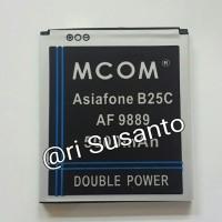 Baterai M-COM for Asiafone B25C AF 9889 Double Power 5000mAh