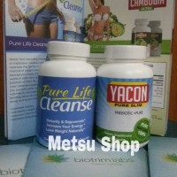 Pure Life Cleanse (Cambogia Set) + Yacon Original USA By Biotrimlabs