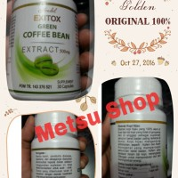 GREEN COFFEE BEAN ORIGINAL KAPSUL KOPI HIJAU PELANGSING DIET HERBAL