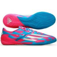 sepatu futsal adidas f10 in trible pack biru pink original