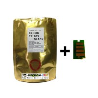 Bubuk Toner Xerox CM205b/CP105b/CP205 BLACK Colour Japan + Chip