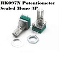 Sealed Potentiometer 15mm: 20k Mono 3 kaki (3P)